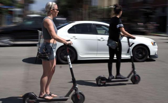 Quién paga los daños cuando chocas con un scooter