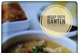Resep Soto Asli Banten yang sedap menyehatkan