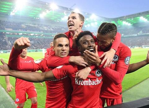 CLB Eintracht Frankfurt có nhiều cơ hội chiến thắng trong trận đêm nay