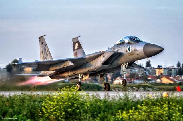 """Resultado de imagen para . El F-15I """"Trueno"""""""
