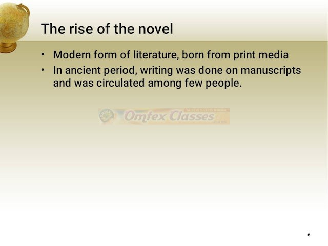 Chapter 4: History of Novel Balbharati Solutions for English