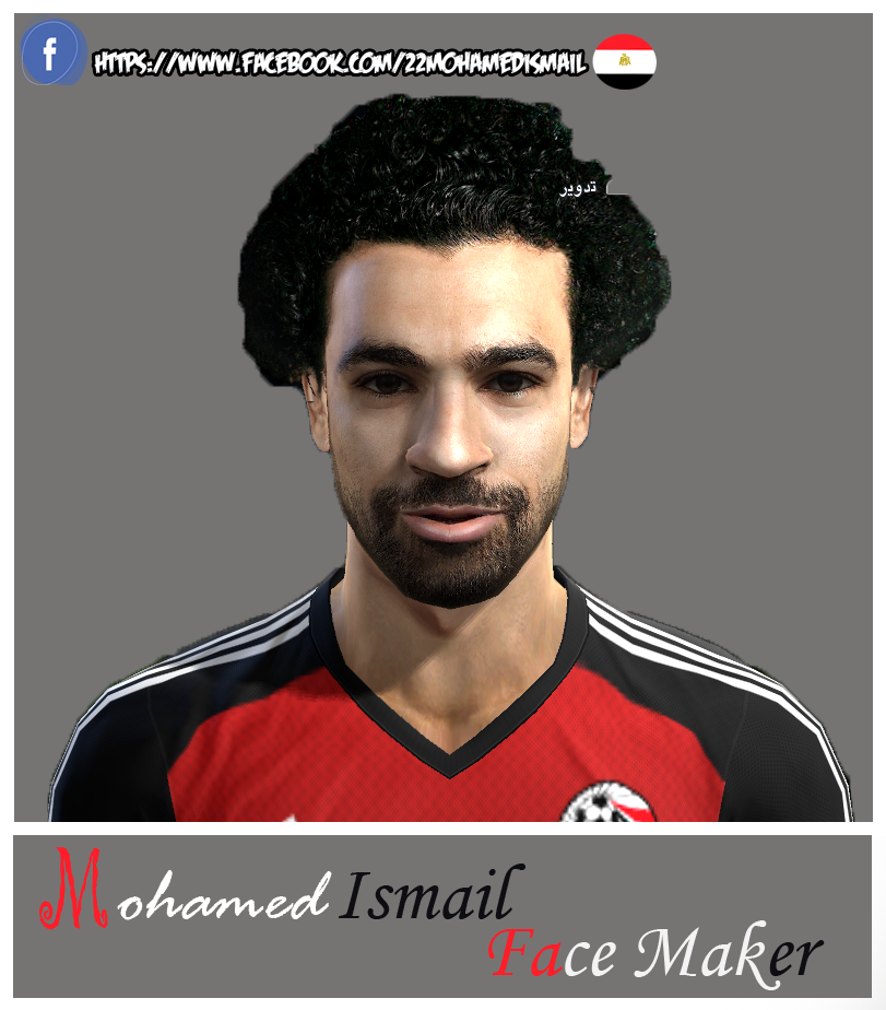 PES 2013 M. Salah Face by Mohamed Ismail