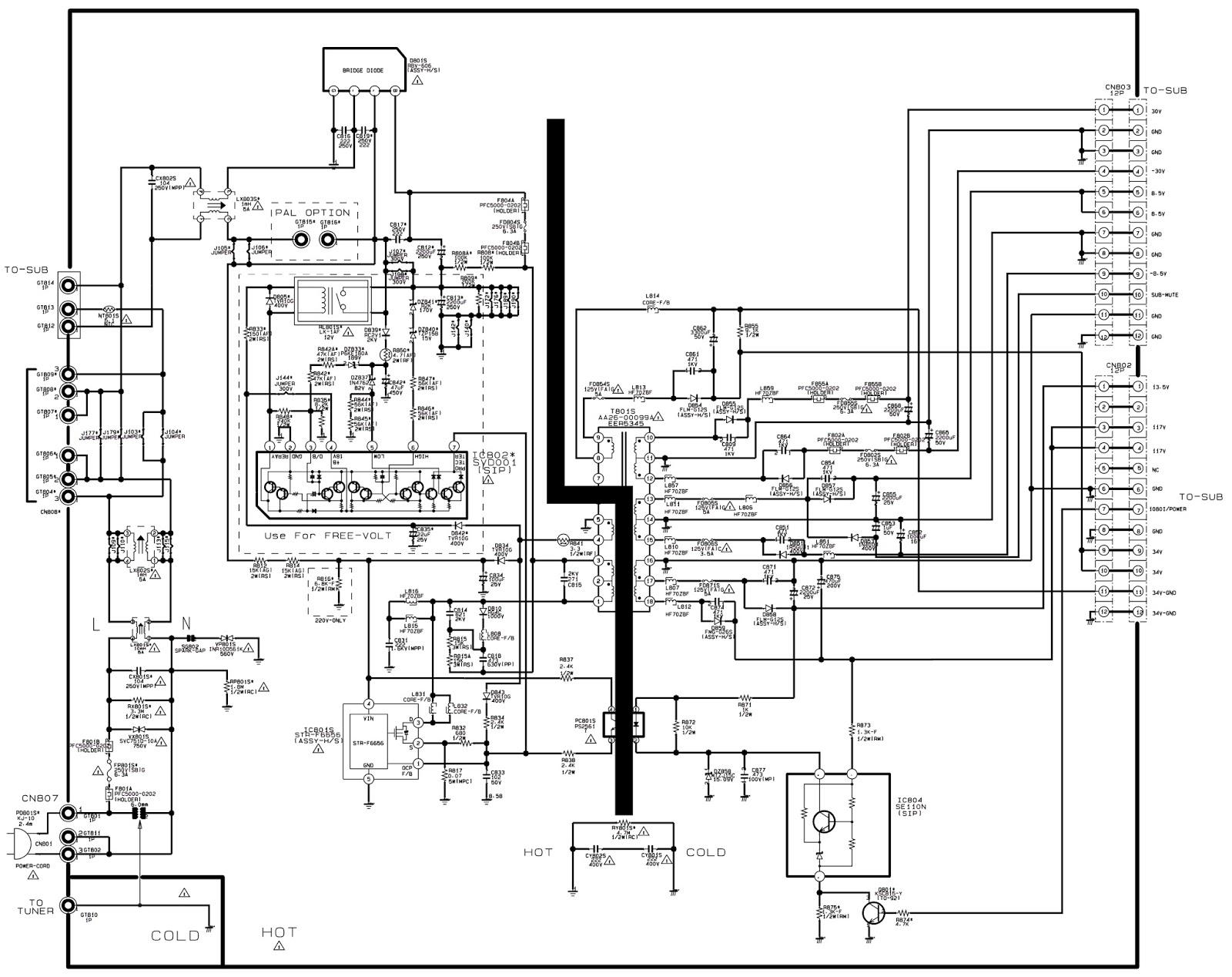 hcl smps circuit diagram