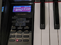 Casio GP-510 GP-310 control panel