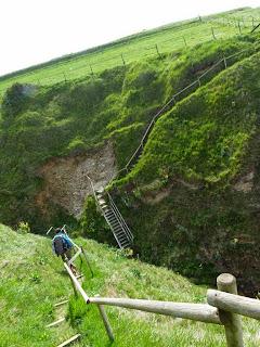 Criel-sur-Mer ノルマンディー 断崖 トレッキング
