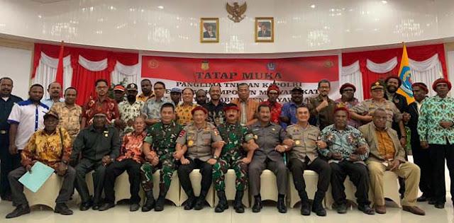 Dialog Hati Ke Hati Panglima TNI Dengan Masyarakat Jaya Wijaya