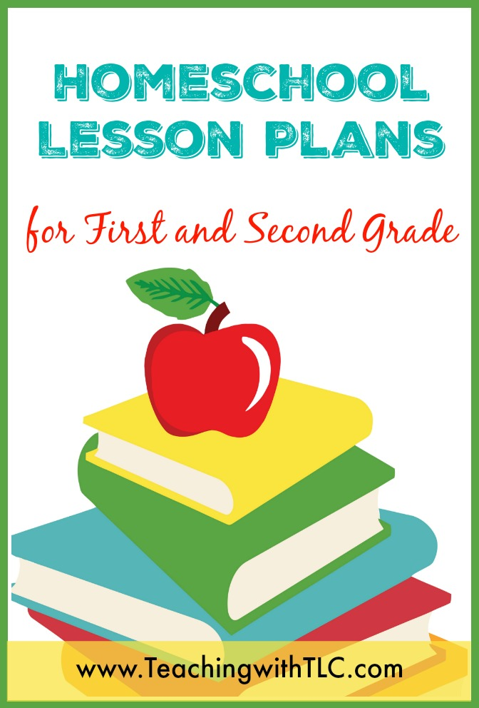 teaching with tlc homeschool lesson plans for first and second grade