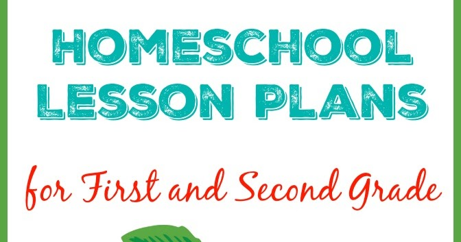 Teaching With Tlc Homeschool Lesson Plans For First And