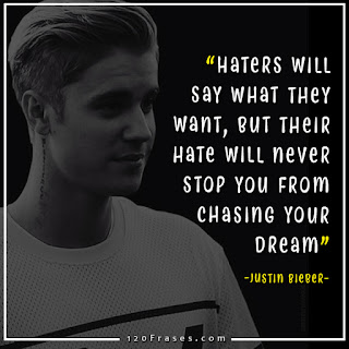 7 Justin Bieber Quotes with picture