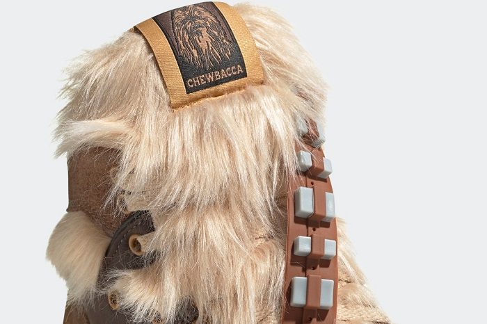Adidas Chewbacca Shoes Belt Design