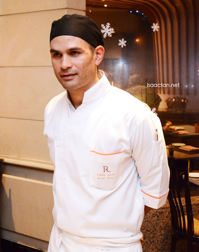 Sous Chef Pablo Jose here to serve up some nice Christmas and new year fares