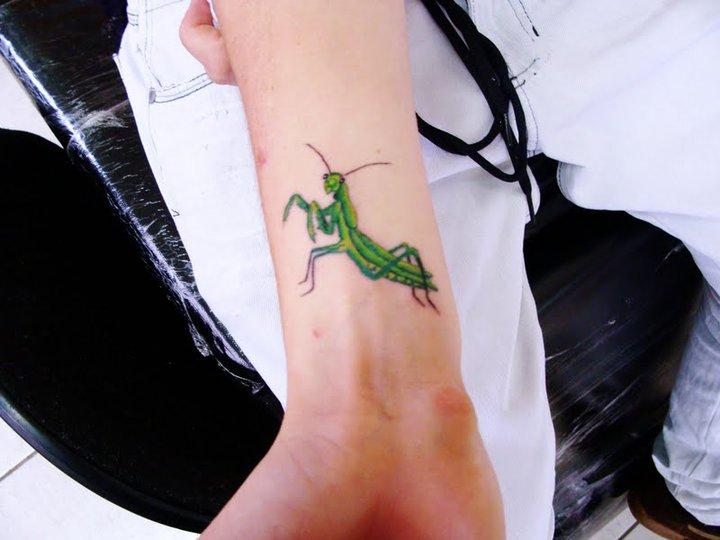 Fujis Art Tattoo Louva A Deus