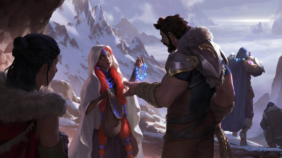 Gift Giver, Targon, Legends of Runeterra, 4K, #5.2722