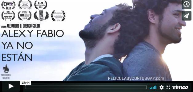 CLIC PARA VER VIDEO Alex y Fabio Ya No Estan - Corto - Puerto Rico - 2013