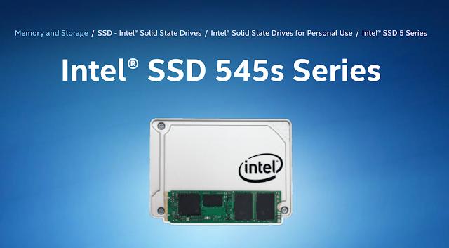 SSD Intel 545S Merk SSD Komputer Paling Murah Berkualitas