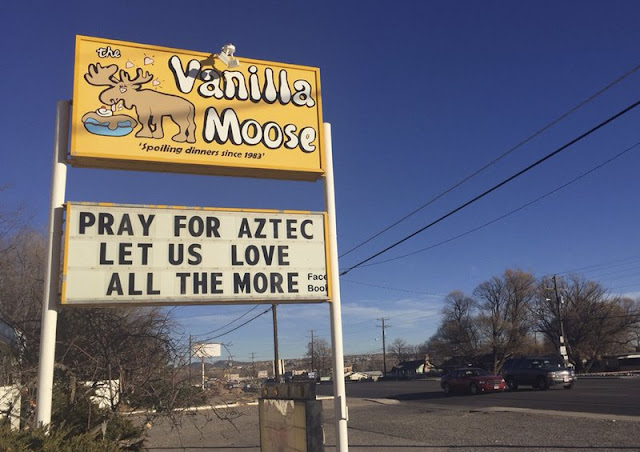 New Mexico school shooter left note