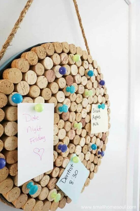 Easy crafts to paste notes and photos