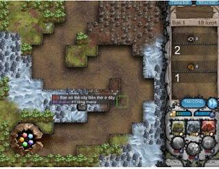 Chơi game bảo vệ đảo ngọc