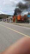 Incendio destruye iglesia y vivienda en Villa Palomino-PLC