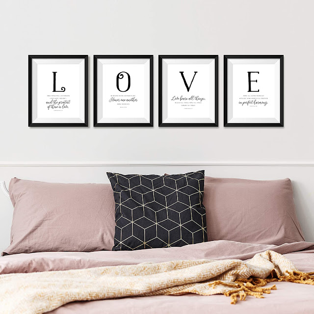 Scripture Artwork about Love (Banded Together as Christ Followers)