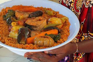 tradisional gambia food