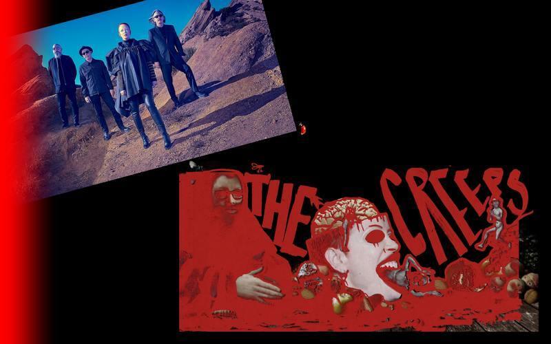 """Após lançar seu novo álbum """"No Gods No Masters"""", o Garbage continua a apresentar novidades. """"The Creeps"""" é uma faixa incisiva e politizada - como o álbum -  e casa com as bandeiras que a banda levanta nos palcos e fora deles desde o início de sua carreira."""