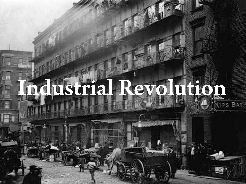 Societal Context Industrial Revolution Steam Engines