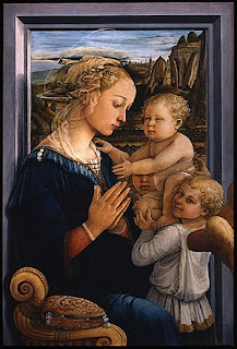 Lucrezia Buti is thought to be depicted  in Lippi's 1455 Madonna and Child