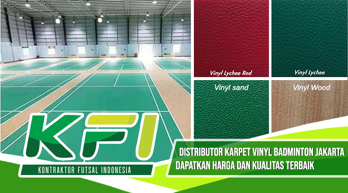 Distributor Karpet Vinyl Badminton Jakarta