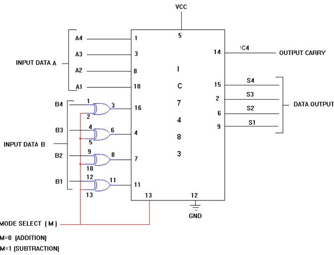 8 Bit Adder Circuit Wiring Diagram Master Blogs