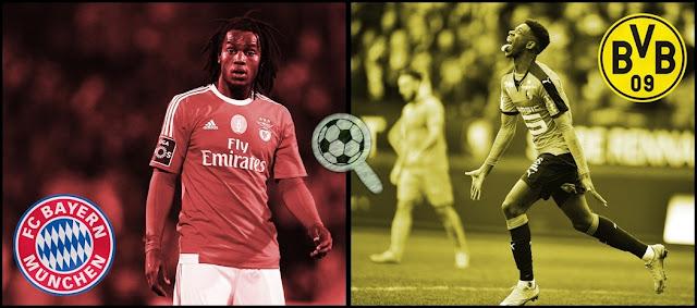 Bayern Munique Borussia Dortmund Renato Sanches Ousmane Dembélé