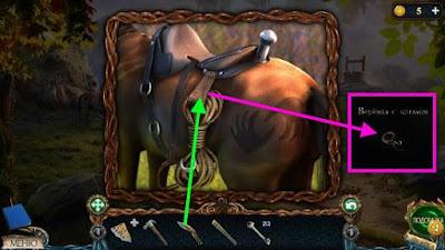 получаем веревку с крюком при помощи ножа в игре затерянные земли 3