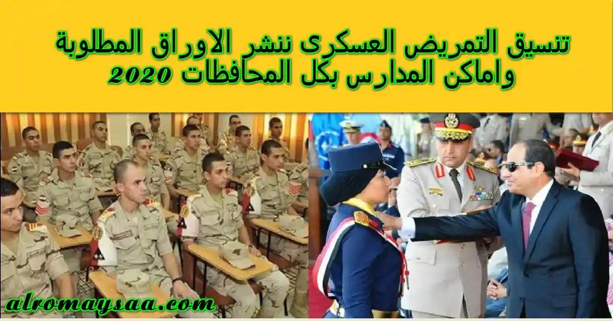 تنسيق التمريض العسكري فى كل المحافظات مجموع درجات القبول فى التمريض 2020