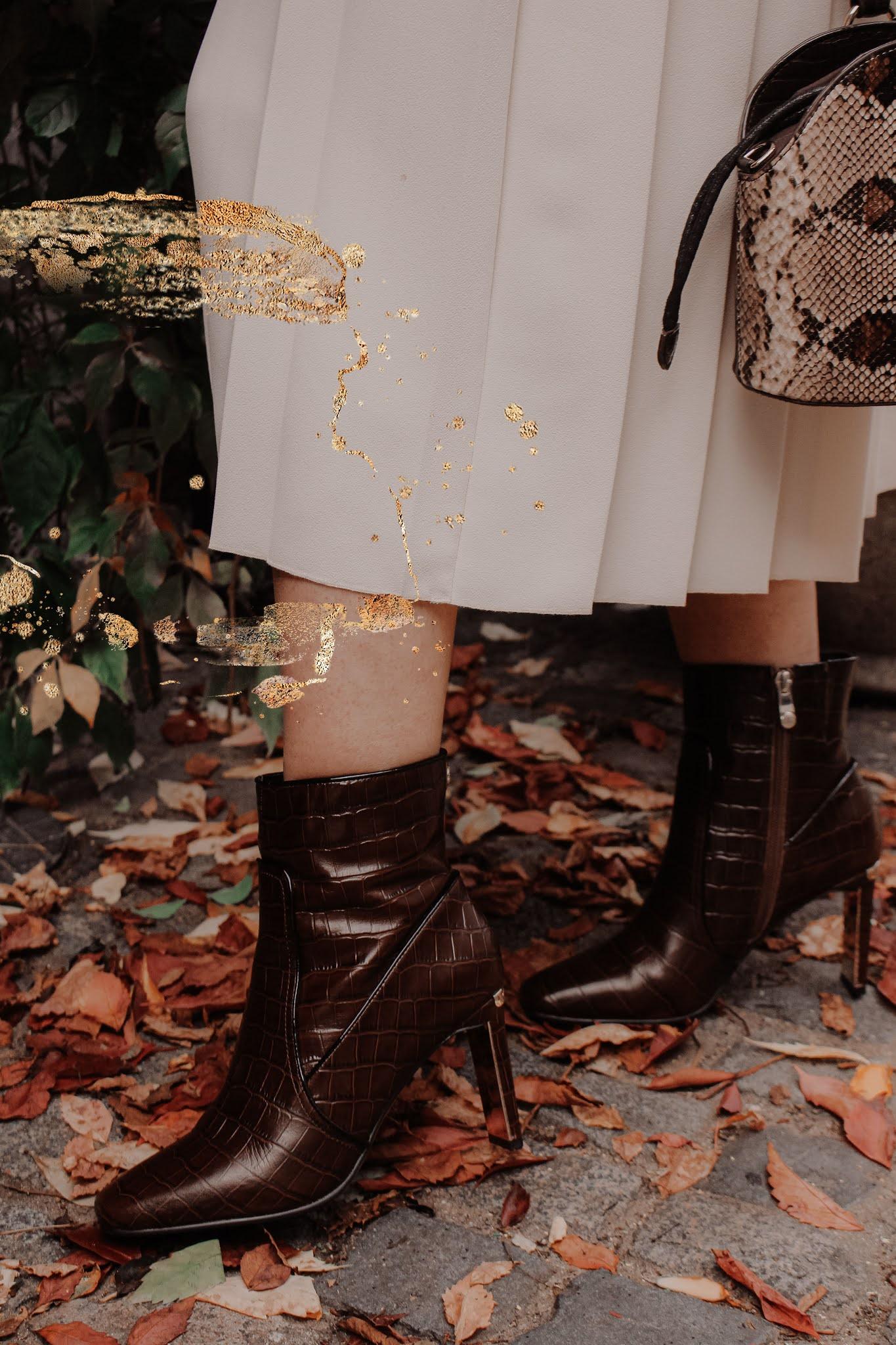 Moda in Pelle Nyah Brown Crown Boots
