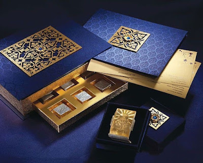 Die Cut Boxes is type of Wedding Invitation Boxes