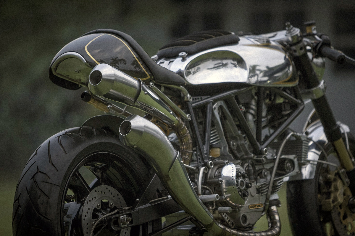vintage speed - bcr ducati 900ss cafe racer ~ return of the cafe