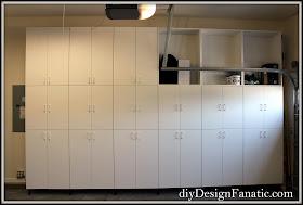 storage, diydesignfanatic.com, storage shelves, diy storage shelves, basement storage, garage storage