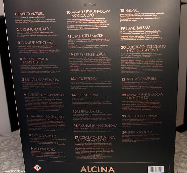 Alcina - Adventskalender 2017