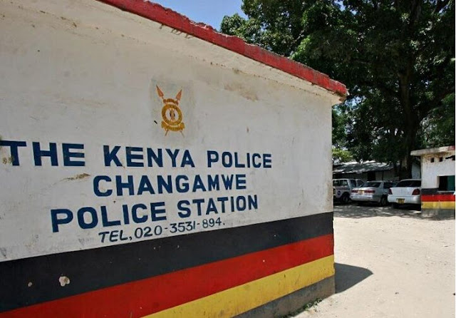 Changamwe police station clear photo in Mombasa