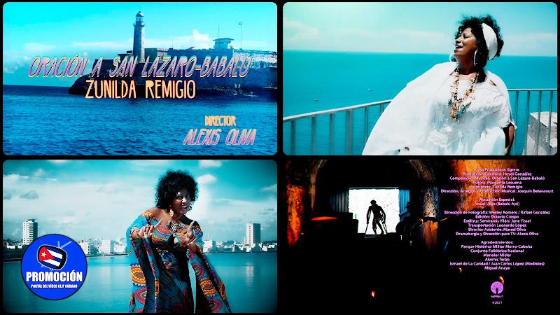 Zunilda Remigio - ¨Oración a San Lázaro - Babalú¨ - Videoclip - Director: Alexis Oliva. Portal Del Vídeo Clip Cubano. Música popular cubana. Cuba.