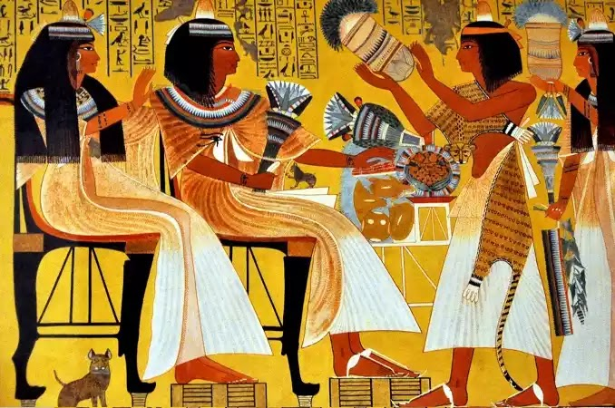 What did Egyptians wear?