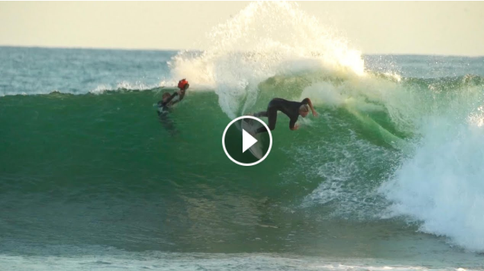 Surfing Lower Trestles with Kelly Slater and Pros July 2021