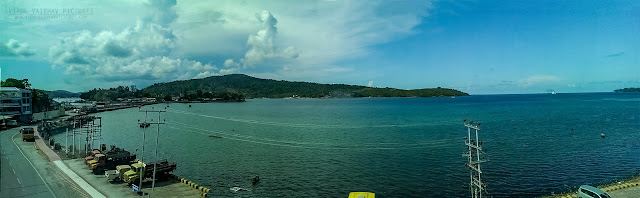 Port Blair hotel panorama view