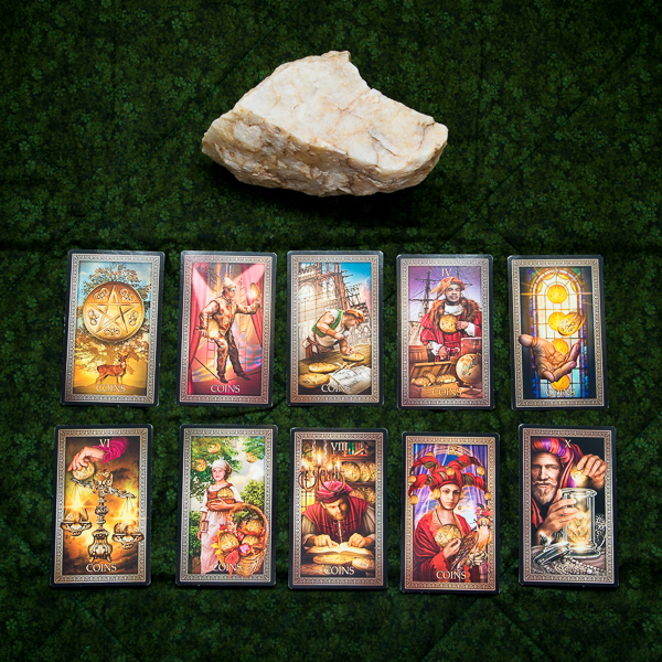 Pentacles-Earth-element-Fall-Equinox-Tarot-Grand-Luxe-Mother-Tarot