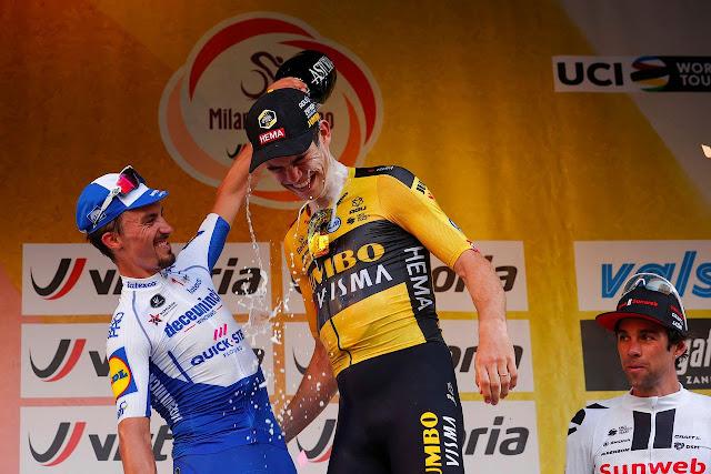 Wout Van Aert también se lleva la Milán-San Remo