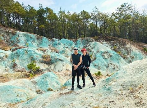 Angel Locsin And Neil Arce In Blue Soil Hills