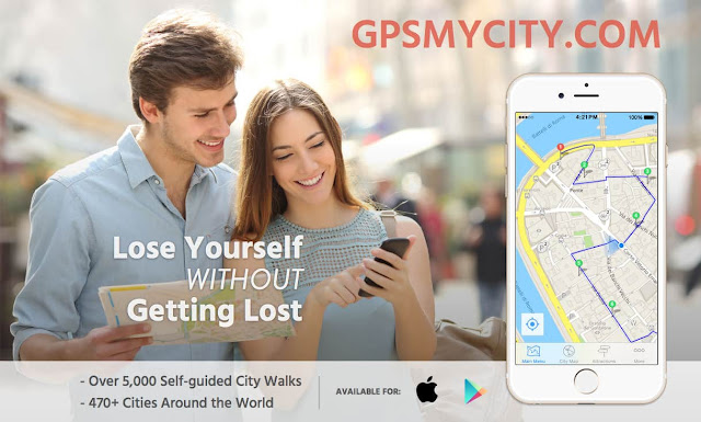GPSMyCity downloadable city guides