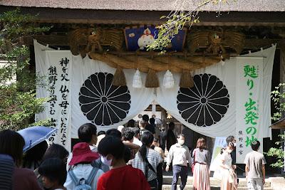 熊野大社の混雑