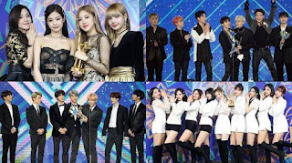 Golden Disc Awards 2019 hari pertama. - Foto/Twitter/GoldenDisc_en