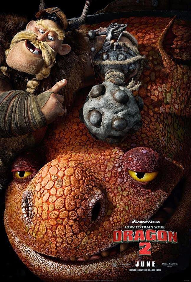 How To Train Your Dragon 2 Gobber & Grump